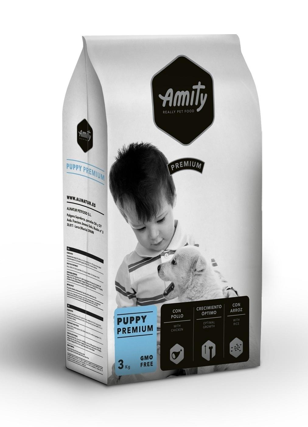 Amity Premium puppy корм для щенков 3кг