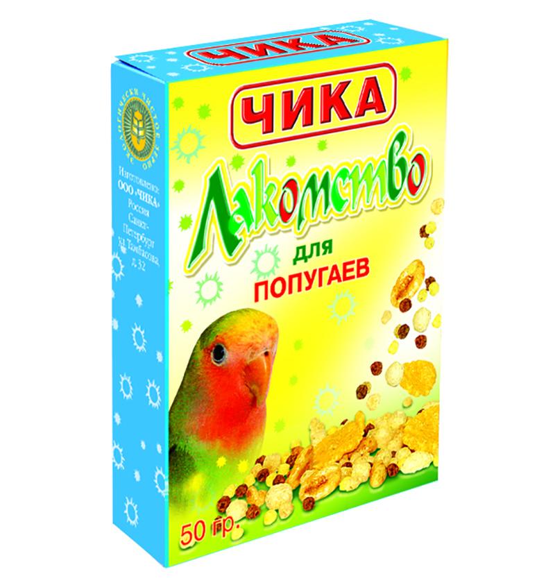 [142.013]  Чика Лакомство для попугаев 50г