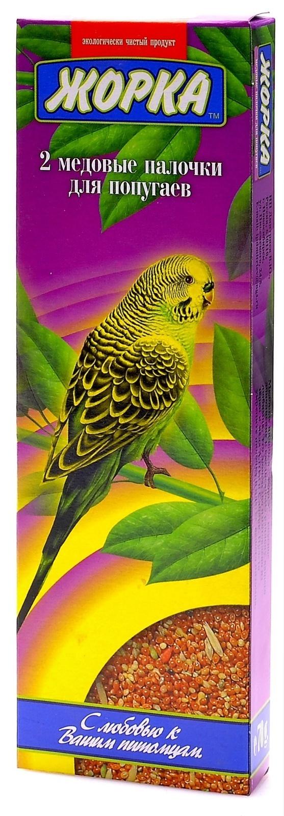 Жорка 2шт. Палочки для волнистых попугаев, 0,080 кг