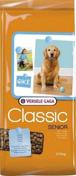 Classic (Versele-Laga) Для пожилых собак (Senior) 438015, 20,000 кг, 46896