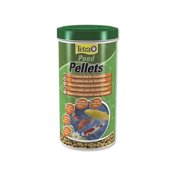 Корм для прудовых рыб Tetra Pond Pellets 1 л,  шарики