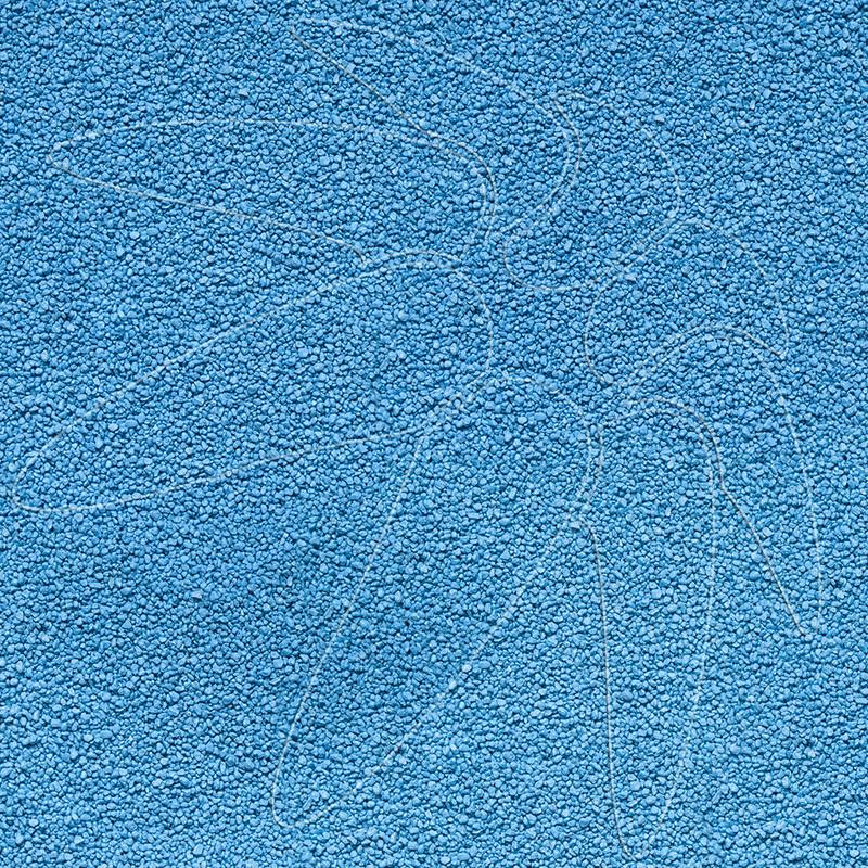 [282.ART-5011026]  ArtUniq Color Azure - Цветной грунт дакв Лазурный 1-2 мм пакет 6 л9 кг