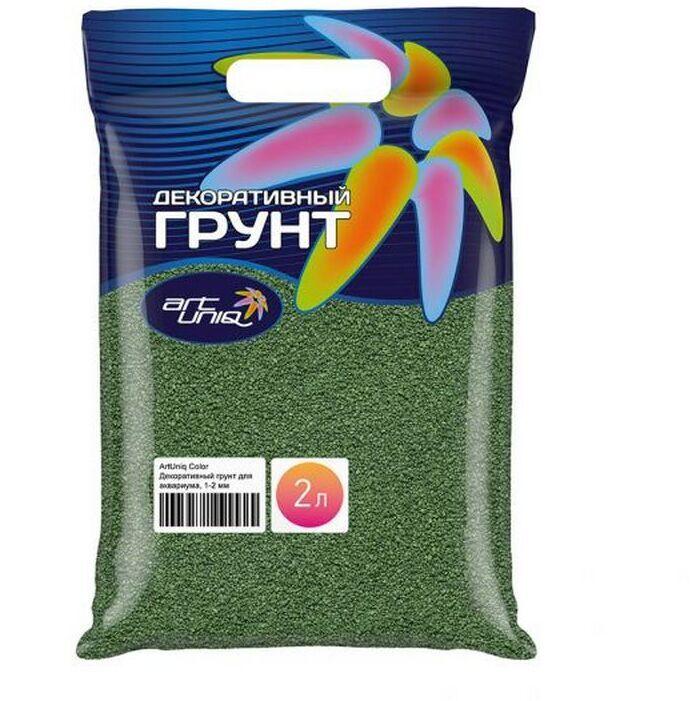[282.ART-5010922]  ArtUniq Color Marsh - Цветной грунт дакв Болотный 1-2 мм пакет 2 л3 кг