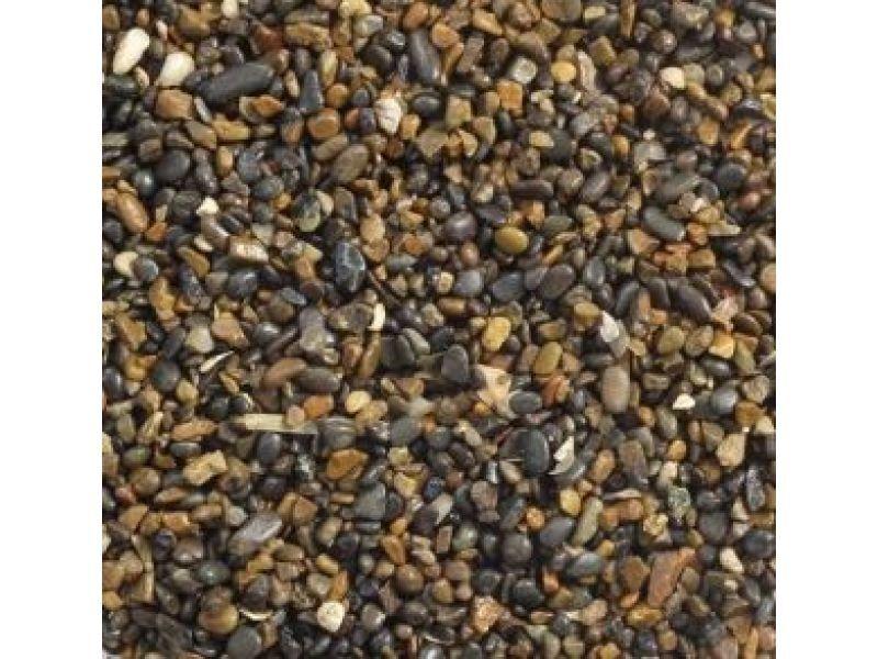 20205A Грунт Laguna 2кг натуральный темно-коричневый меланж, 3-5мм