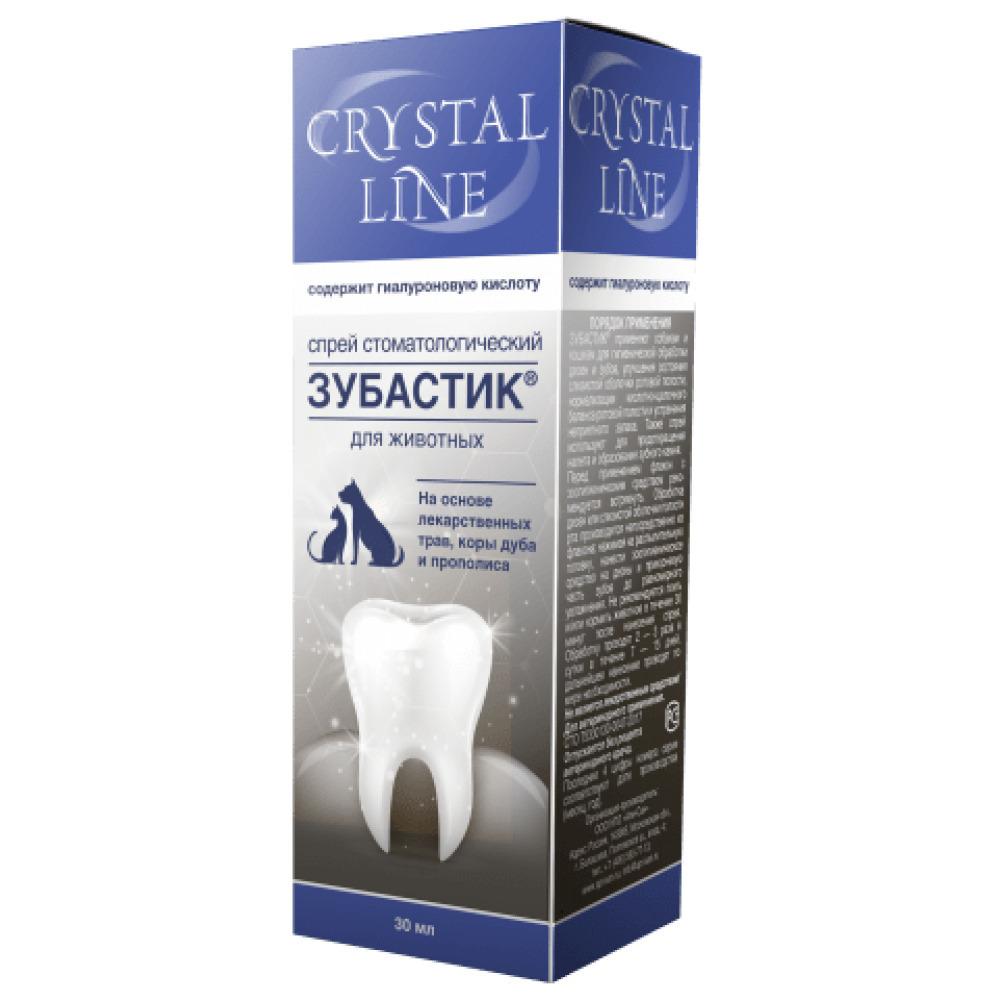 Apicenna Зубастик Crystal Line гель стоматологический для животных 30 мл
