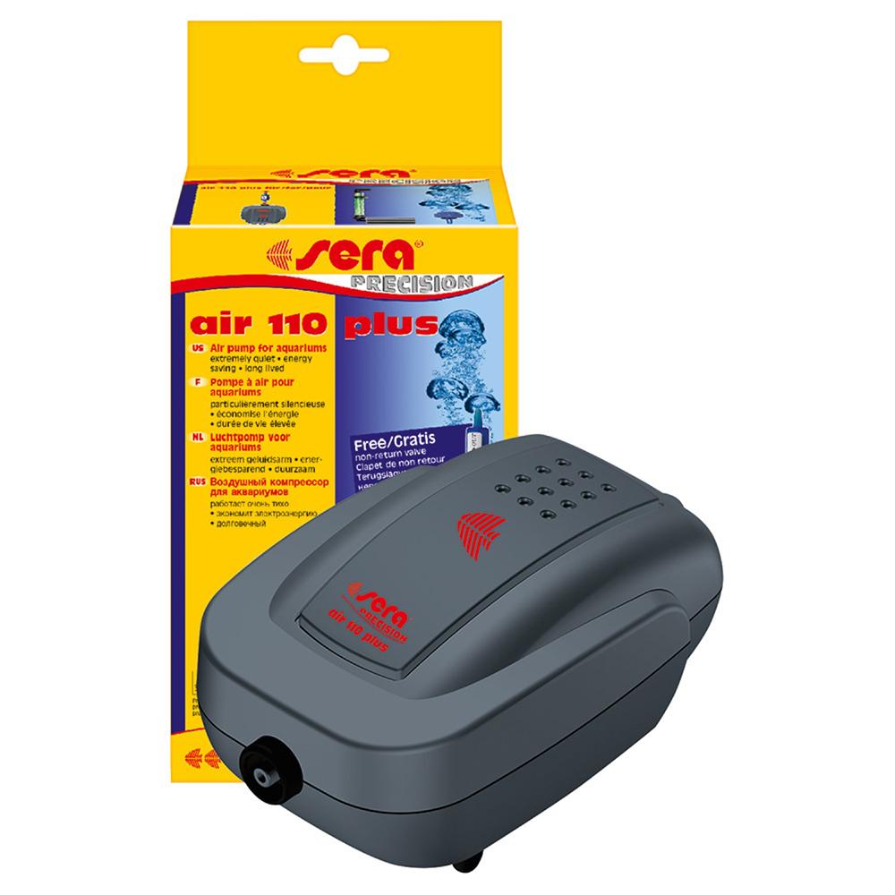 SERA AIR110 компрессор аквариумный. 13