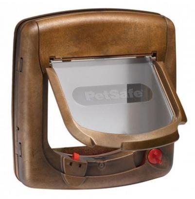 PetSafe Дверца StayWell Deluxe с магнитным замком коричневый, 0,872 кг, 39768