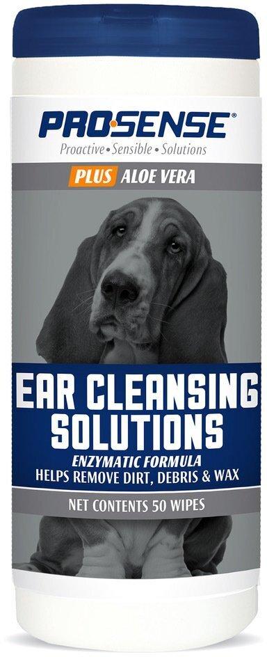Салфетки для ушей,   8in1 PRO-SENSE PLUS , Pro-Sense Plus Ear Wipes 50 шт., P-87081 , 1870814