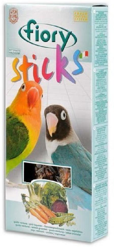 Fiory Sticks палочки для средних попугаев, с овощами 120 гр