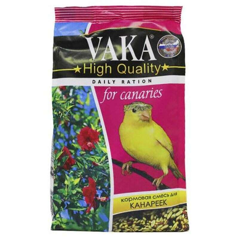 Вака High Quality корм для канареек 500 гр, 1100100471