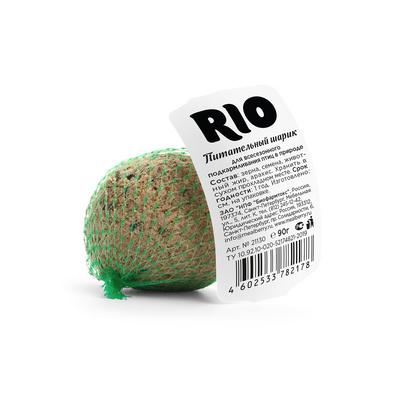 RIO лакомство дптиц Питательный шарик 90 гр для подкармливания и привлечения птиц