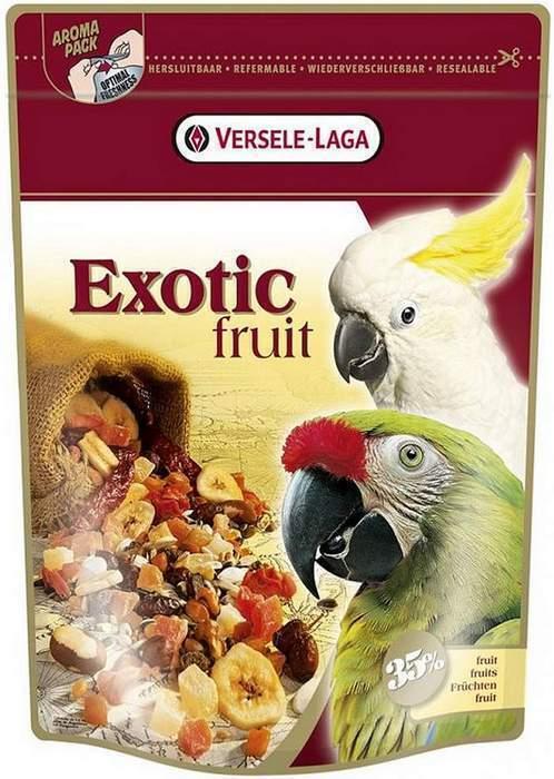 Versele-Laga Exotic Fruit лакомство для крупных попугаев, с фруктами 600 гр