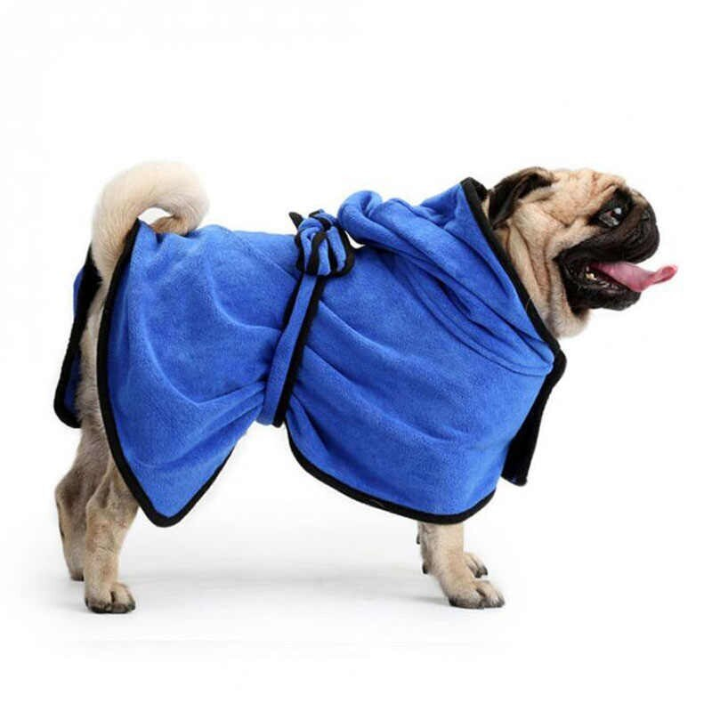 [94.163.331]  Халатик для домашних животных L 80х45 см голубой