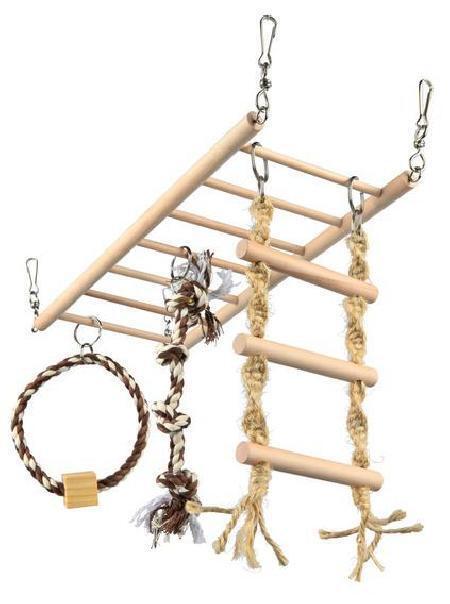 6905 Мостик подвесной деревянный, 35*15 см