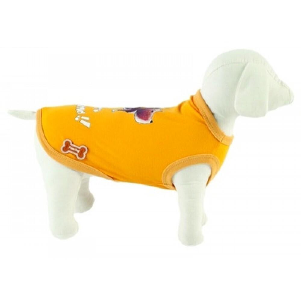 Ferribiella одежда Футболка Лучшие друзья (желтый) на длину 20 см (T-SHIRT BEST FRIENDS GIAL) ABF196/20-G, 0,250 кг, 13581