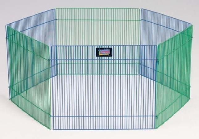 MidWest вольер для грызунов Critterville 6 панелей 48х38h см цветной