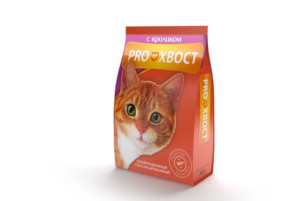 ProХвост корм для взрослых кошек всех пород, кролик 10 кг