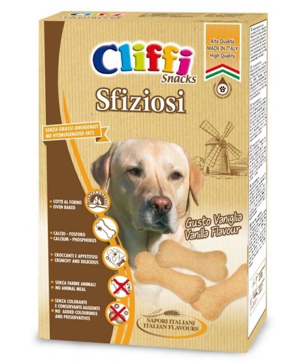 Cliffi (Италия) Лакомство для собак Бисквиты с кальцием (Sfiziosi) PCAT215, 0,850 кг, 15548