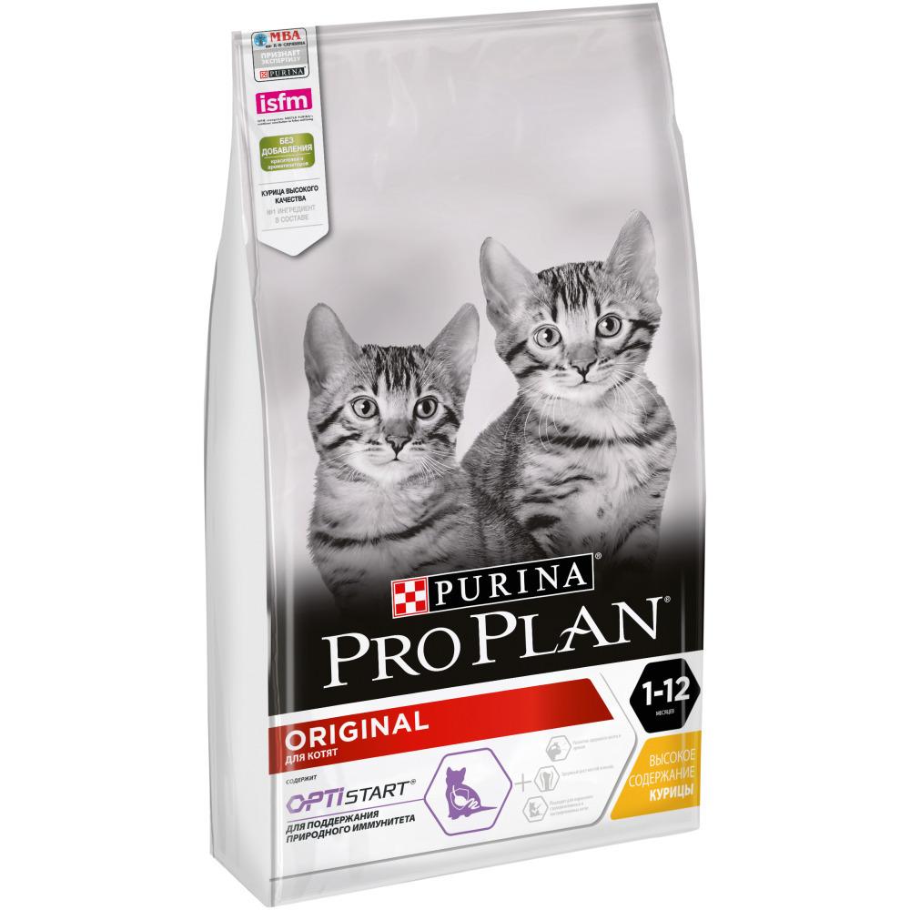 Pro Plan корм для котят всех пород, курица 7 кг