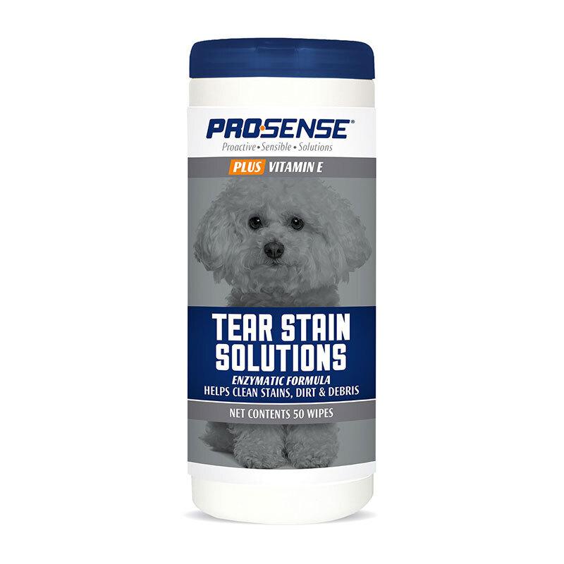 Салфетки для удаления слезных дорожек 8in1 PRO-SENSE PLUS Tear Stain Solutions, 50 шт., P-87083 , 1870838