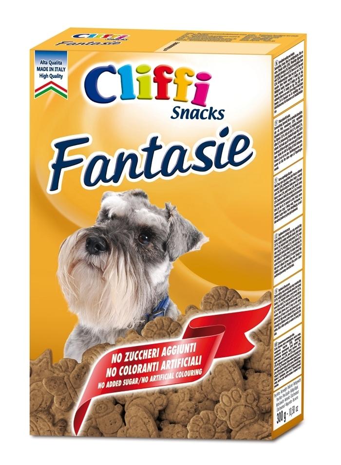 Cliffi (Италия) Мясные бисквиты для собак (Fantasie) PCAT239, 0,300 кг, 15551