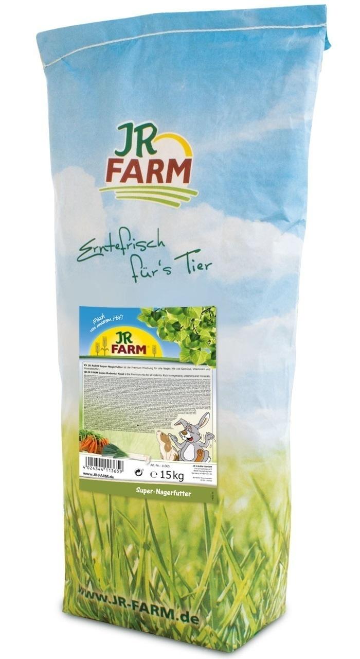 JR FARM 11365 Супер корм для грызунов 15кг, 37107