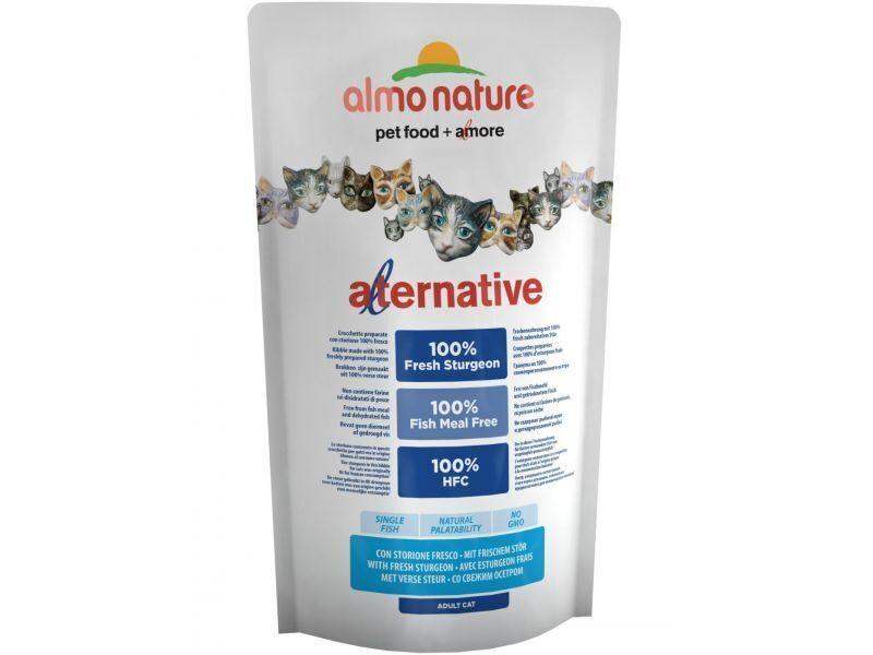 Almo Nature Alternative ВИА Корм со свежим осетром  (55 % мяса) для кошек (Alternative Sturgeon and Rice) 7854, 0,750 кг, 20633
