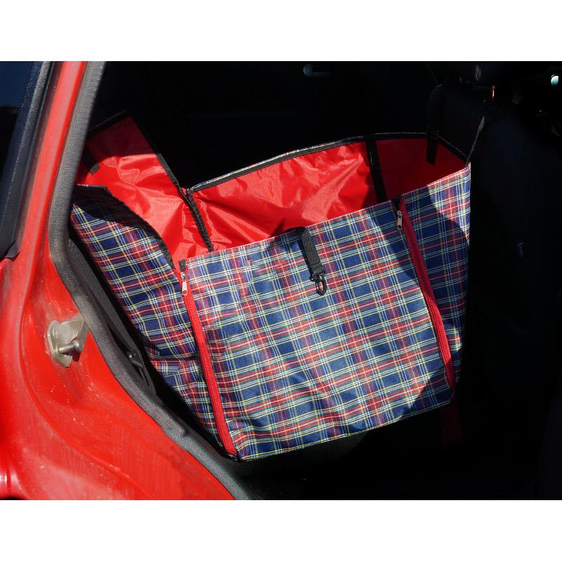 78042 накидка на сиденье автомобиля с бортиком 100*45*17 см