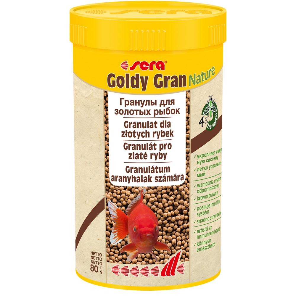 Sera корм для золотых рыбок, гранулы 100 мл