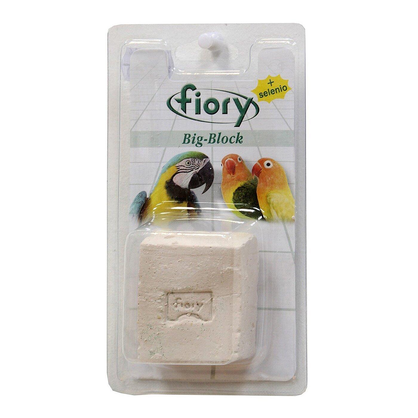 Fiory Big-Block био-камень для птиц, с селеном 100 гр