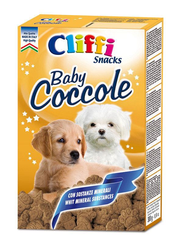 Cliffi (Италия) Мясные бисквиты для щенков (Baby Coccole) PCAT238, 0,300 кг, 15549