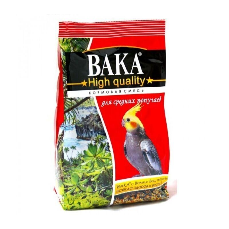 Вака High Quality корм длЯ собак редних попугаев 500 гр, 1300100471
