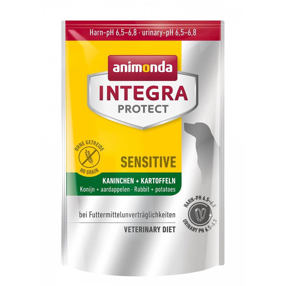 Анимонда 86426 Integra Protect Sensitive сух.длЯ собак обак при пищевой аллергии с Кроликом и картофелем 4кг
