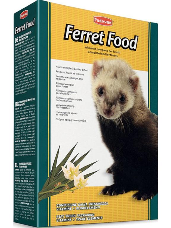 Padovan Ferret Food основной корм для хорьков 750 гр