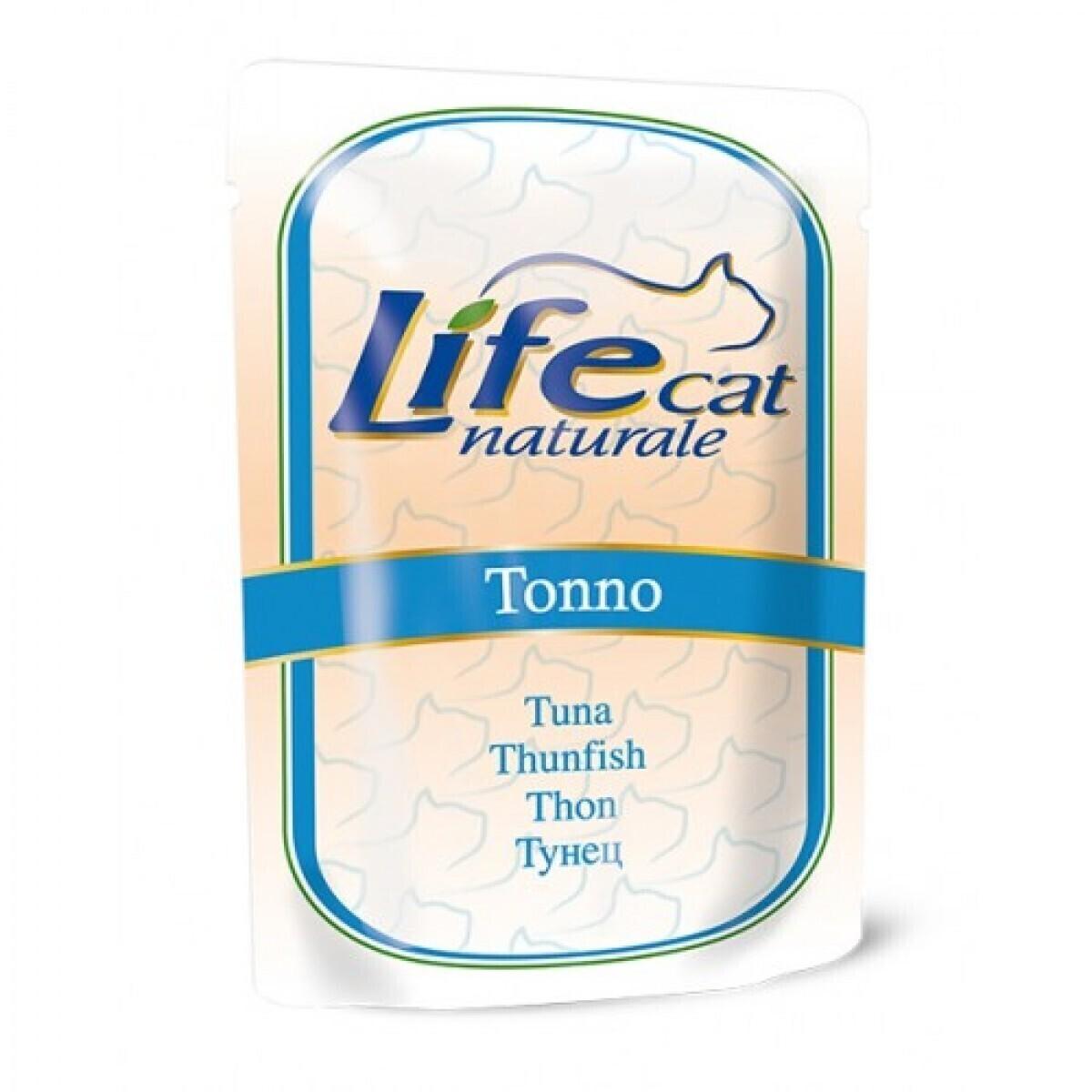 Lifecat Деликатес для кошек Тунец в желе 70гр 130