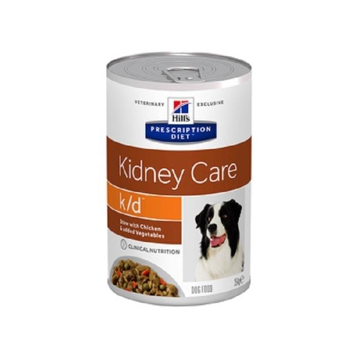 Hills вет.консервы Консервы Рагу K/D для собак Лечение заболеваний почек (603869), 0,354 кг, 36247