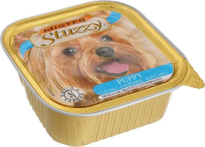 MISTER STUZZY DOG консервы для ЩЕНКОВ 150г, с Курицей, алюпак