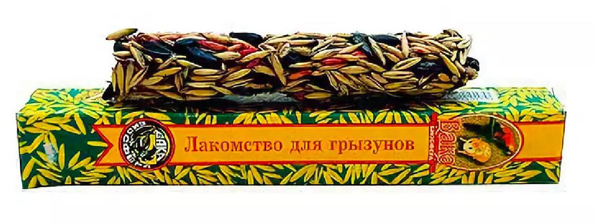 Вака 11411 Лакомство дптиц Зерновая медовая палочка