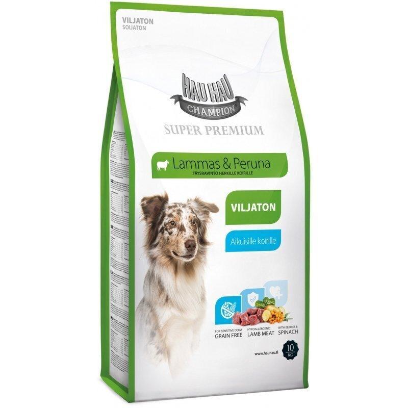 Hau-Hau Champion SP Lamb grain-free 10 кг -  корм для собак всех пород из мяса ягненка без зерна  10 кг