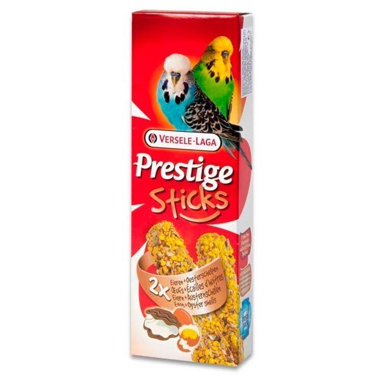 Versele-Laga Prestige палочки для волнистых попугаев, с яйцом и ракушечником 60 гр