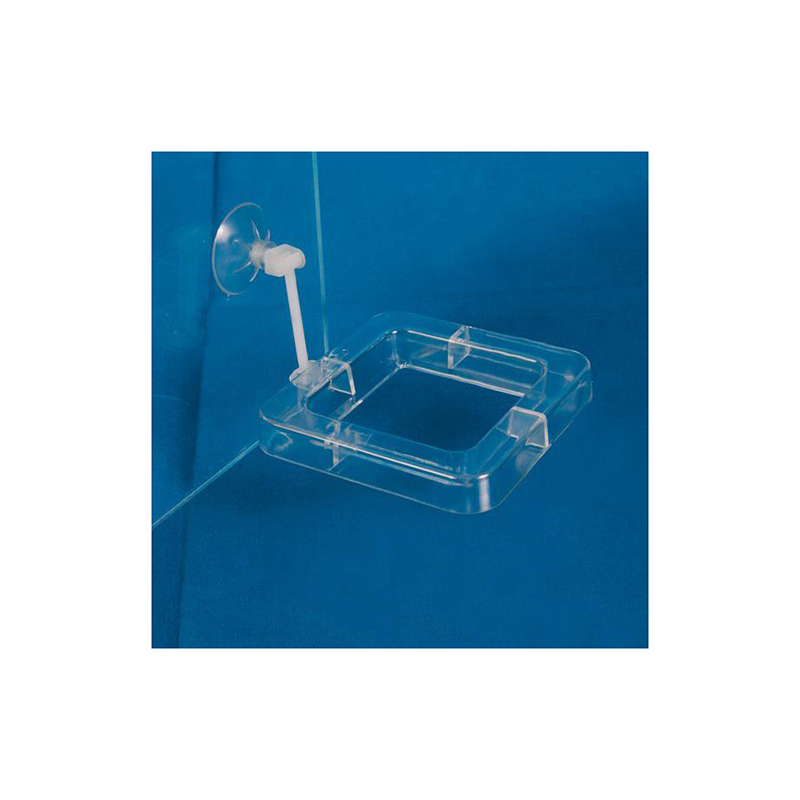 Trixie кормушка-рамка для рыб, квадратная с присоской 7 х 7 см