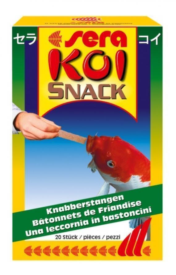 Sera Корм для рыб Кои Лакомка, палочки д/кои, 20 шт, 15 г, 7221