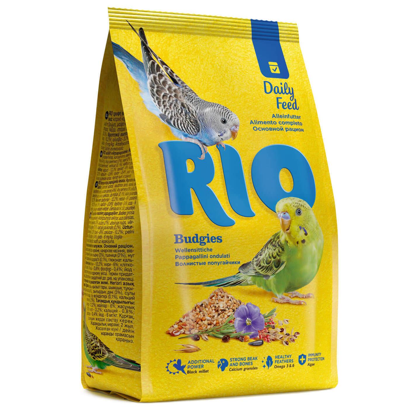 RIO корм дволнистых попугаев 1 кг