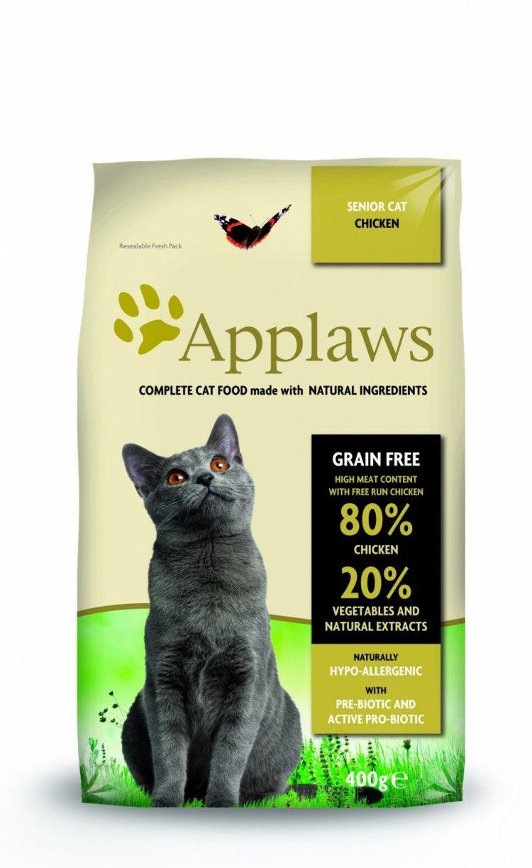 Applaws корм для пожилых кошек всех пород, беззерновой, курица и овощи 7,5 кг