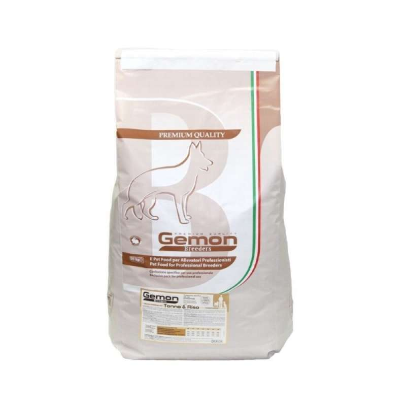 Gemon Dog PFB 2412 корм для взрослых собак тунецрис 20 кг