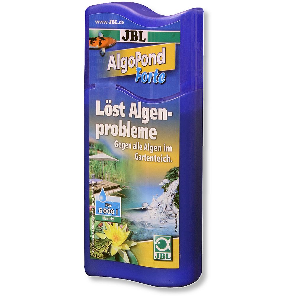 [282.2740500]  JBL AlgoPond Forte - Препарат против водорослей в садовых прудах 250 мл на 5000 л