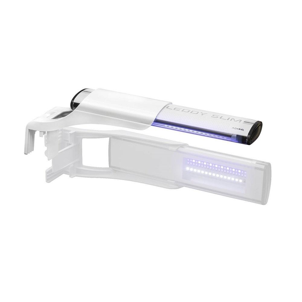 Cветильник AQUAEL LEDDY SLIM DUO MARINE & ACTINIC 10 Вт белый, для аквариума длиной 24-50 см