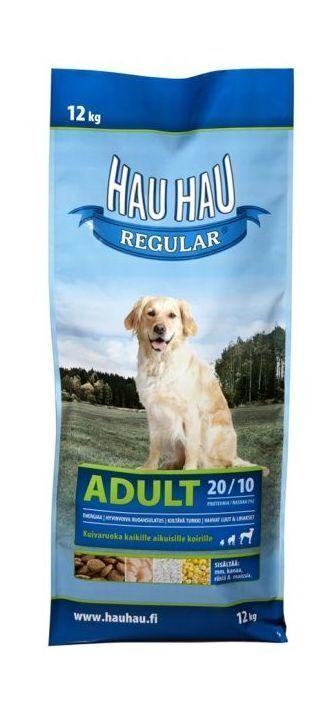 Hau-Hau Regular  Adult dog 12 кг корм для собак всех пород 12кг 130