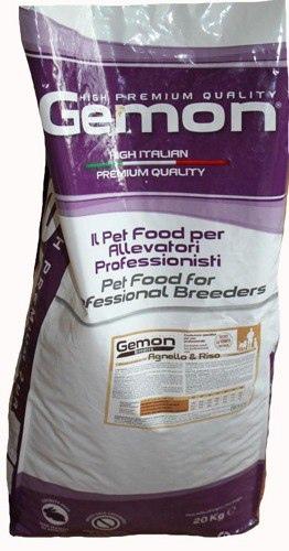 Gemon Dog PFB 2412 корм для взрослых собак ягненокрис 20 кг