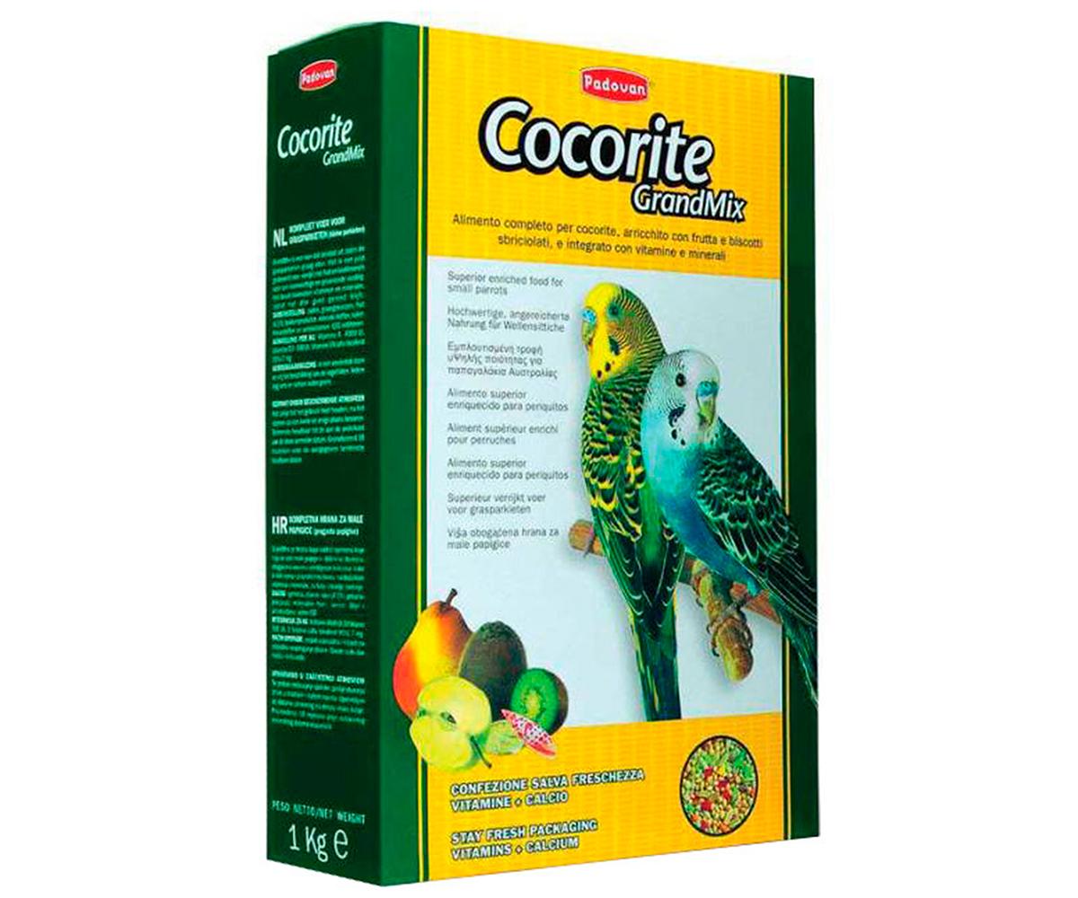 Padovan Сocorite основной корм для волнистых попугаев 1 кг